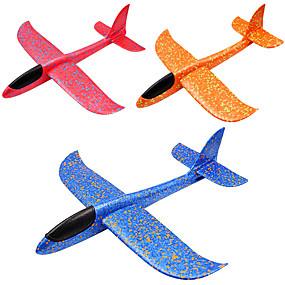 halpa toiminnalliset lelut-Toy Gliders Opetuslelut Lentokone Ympäristöystävällinen materiaali Lasten Poikien Tyttöjen Lelut Lahja 1 pcs