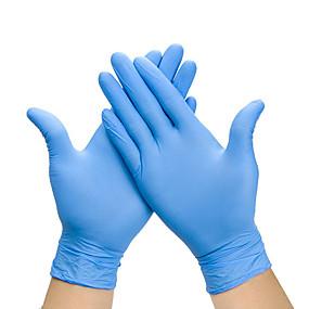 billige Patio-100 stk engangs latexhandsker gummihandsker rengøringshandsker arbejdshandsker
