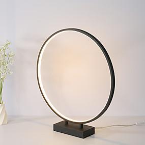 cheap Table Lamps-Desk Lamp Reading Light LED Simple LED power supply For Living Room Bedroom Aluminum 85-265V White Black