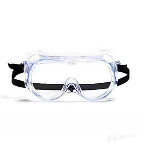 billige Personlig beskyttelse-arbeidsbeskyttelse / støvtett / vindtett / tåkefaste briller / sliping / sprutbestandig støtsikker transparente beskyttelsesbriller