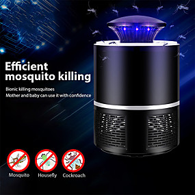 cheap Other Household Appliances-Mosquito killer USB electric mosquito Lamp Photocatalysis mute Light LED bug zapper insect trap Radiationless