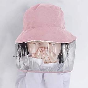 cheap Fashion Trends-Hats Protection High Quality Girls' Black Blushing Pink Yellow