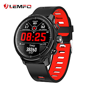 cheap Smart Watches-LEMFO L5 Unisex Smartwatch Bluetooth Waterproof Heart Rate Monitor Blood Pressure Measurement Distance Tracking Information Pedometer Call Reminder Activity Tracker Sleep Tracker Sedentary Reminder