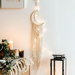 economico Cacciatore di sogni-arazzo fatto a mano luna sogno acchiappasogni nordico decorazione regalo regali creativi per gli studenti
