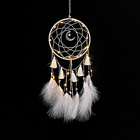 cheap Dreamcatcher-home decor dream catchers handmade feather dreamcatcher  for Car kids bed room decoration craft