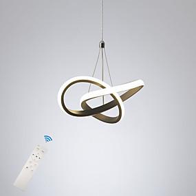 economico Luci e ventilatori da soffitto-Mini plafoniera a led in alluminio moderna da 10,8 pollici, plafoniera moderna per soggiorno, sala da pranzo, verniciato bianco nero 110-120v / 220-240v