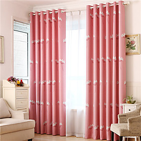 cheap Curtains & Drapes-Gyrohome 1PC GYC2124 Dandelion Shading High Blackout Curtain Drape Window Home Balcony Dec Children Door *Customizable* Living Room Bedroom Dining Room
