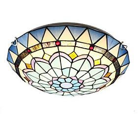 billige Takbelysning og vifter-QIHengZhaoMing 30 cm Globedesign Skyllmonteringslys Metall Glass LED 110-120V / 220-240V