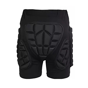 povoljno Zaštitnu opremu-Kratke hlače sa zaštitom od udarca za Skijanje / Klizati se / Rolanje Muškarci / Žene Ovlaživanje / Otporno na trešnju / Protection Poliester / EVA pjena 1 komad Crn