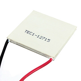 cheap Relays-40*40mm TEC1-12715 Heatsink Thermoelectric Cooler Cooling Peltier Plate Module
