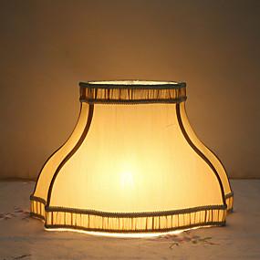 billige LED-gadgets-lampeskjerm Nytt Design / Ambient Lamper / Dekorativ Kunstnerisk / Traditionel / Klassisk Til Stue / Soverom Gul