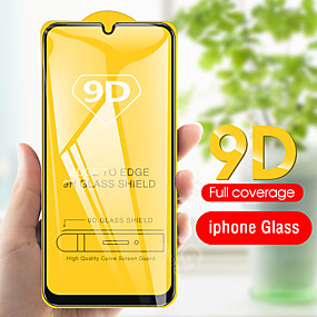 cheap Samsung Screen Protectors-9D Curved Edge Full Cove For Samsung Galaxy A50 A40 A30 A70 A10 Tempered Glass Screen Protector