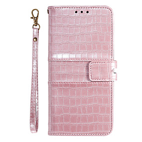 cheap Samsung Case-Case For Samsung Galaxy A51 A71 Wallet / Card Holder / with Stand Full Body Cases Lines / Waves PU Leather for Galaxy A90 A80 A70 A60 A50 A30 A20 A20E M10 M20 Note10 Plus  Note 10 S10 E S10 PLUS
