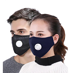 cheap Travel-Anti-Fog Dust Proof Protection Bike / Cycling Dark red Navy White for Women's Adults' Solid Colored / Mask / Mask