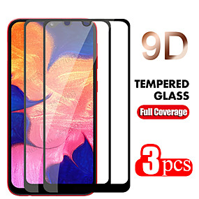 cheap Samsung Screen Protectors-2PC/3PC 9D Curved Edge Full Cove For Samsung Galaxy A50 A40 A30 A70 A10 Tempered Glass Screen Protector