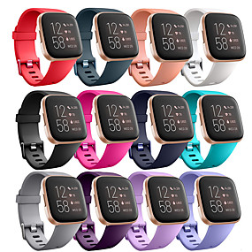 cheap Smartwatch Bands-Watch Band for Fitbi Versa Lite / Fitbit  Versa 2 Fitbit Modern Buckle Silicone Wrist Strap