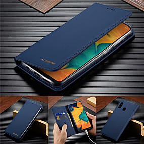 cheap Samsung Case-lc.imeeke Leather Case For Samsung Galaxy A51 A71 A50 A70 A40 A30 A20 A10 A20e Magnetic Card Stand Cover Flip Wallet Case for Samsung