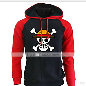 cheap Athleisure Wear-Men's Skull Hoodie Halloween Casual Hoodies Sweatshirts  Red Yellow Dark Gray