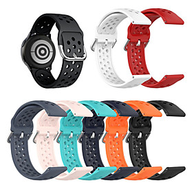 cheap Smartwatch Bands-20MM For Moto 360 2nd Gen 42mm Sport Watch Silicone Rubber Wrist Band Strap