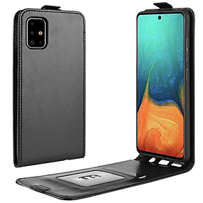 cheap Samsung Case-For  Galaxy S10 Crazy Horse Vertical Flip Leather Protective Case