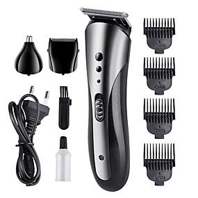 halpa Hiustenhoito ja muotoilu-kemei km-1407 3 in 1 monikäyttöinen sähköinen hiustenleikkuukone sähköinen partaleikkuri harja ladattava hiustenleikkuri leikkuri pakkaus