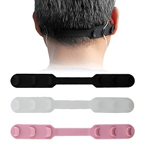 cheap Universal Accessories-In Stock 10PCS Ear Protector Mask Hook Buckle Silicone Bandage Ear Rope Anti-slip Adjustment Mascherine Mascarillas Buckle