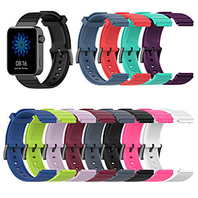cheap Smartwatch Bands-18MM Silicone Sport Watch Band Strap For Xiaomi Smart Watch