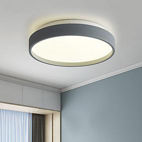 abordables Plafonniers & Ventilateurs-23 cm Formes géométriques Plafonniers Métal Acrylique Finitions Peintes LED / Style nordique 110-120V / 220-240V