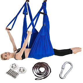 billige Hjemmeautomatisering og underholdning-kaload air yoga fitness hengekøye 550 kg lasteevne yoga studio kvalitet swing yoga hengekøye