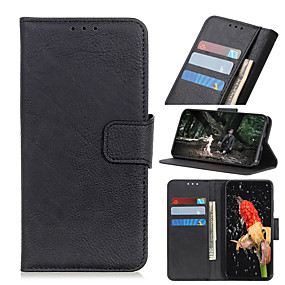 cheap Samsung Case-Case For Samsung Galaxy A9 / A7 / Galaxy S10 Wallet / Card Holder Full Body Cases Tile PU Leather / TPU