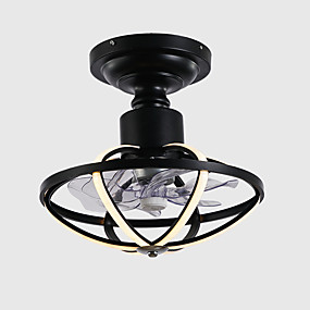 cheap Ceiling Lights & Fans-40 cm Dimmable / Geometric Shapes Ceiling Fan Aluminum Slim Painted Finishes Modern / Nordic Style 110-120V / 220-240V