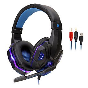 cheap Gaming Headsets-LITBest 830 Gaming Headset Wired with Microphone with Volume Control for Gaming