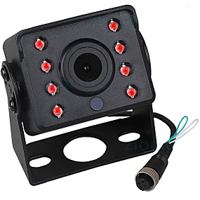 cheap Car Rear View Camera-ZIQIAO 480TVL 720 x 480 CCD Wired 140 Degree Rear View Camera Waterproof / Plug and play / Night Vision for Bus / Truck