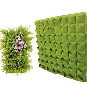 abordables Outils-approvisionnement mural feutre sac de plantes sac de plantation verdissement mural sac de culture de plantes sac de jardinage sac de croissance non tissé