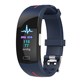 cheap Smart Watches-P3PLUS Unisex Smartwatch Smart Wristbands Bluetooth Waterproof Heart Rate Monitor Sports Exercise Record Health Care ECG+PPG Pedometer Call Reminder Sleep Tracker Sedentary Reminder