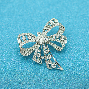cheap Birthday Party-Women's Brooches Basic Wedding Halloween Trendy Casual / Sporty Korean Fashion Brooch Jewelry Silver For Holiday Date Birthday Party Party & Evening Festival
