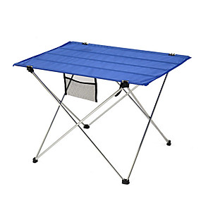 cheap Garden Tools-Outdoor Folding Table Lightweight Aluminum Table Portable Portable Folding Table Barbecue Stall Fishing Table
