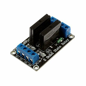 cheap Relays-5V 2 Channel 240V SSR High Level Solid State Relay