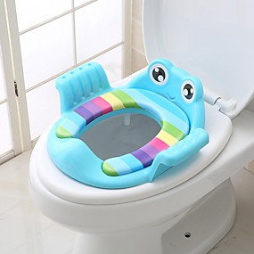 cheap Bathroom Gadgets-Children's Auxiliary Toilet Toilet Toilet Seat Men And Women Baby Toilet Ring Cushion Baby Toilet Stool Thickening