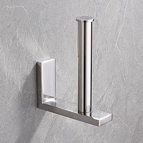 povoljno Držači za toaletni papir-držač toaletnog papira novi dizajn / kreativan savremeni / moderni nehrđajući čelik / nisko-ugljični čelik / metal 1pc - kupaonica na zid