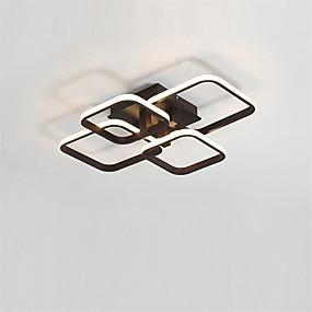 levne Stropní světla a větráky-OYLYW 4-Light 46 cm Geometrické tvary Vestavěná světla Hliník Silica gel Moderní / Nordický styl 110-120V / 220-240V