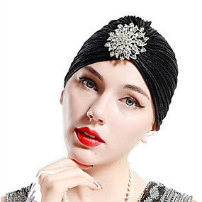 cheap Accessories-Fabric Headbands Durag Sports Adjustable Bowknot For Holiday Street Sporty Simple Silver Gold Brown 1 Piece / Women's
