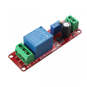 cheap Relays-DC 12V Monostable Switch Delay Switch Adjustable Module 0 to 10 Second NE555