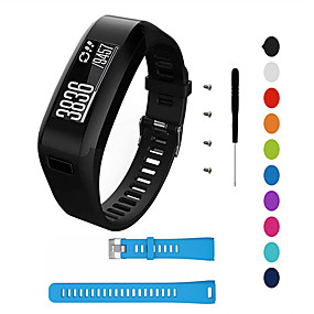 cheap Smartwatch Bands-For Garmin Vivosmart HR Strap Silicone Sports Fitness Wrist Band