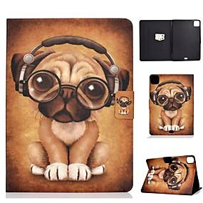 cheap iPad case-Case For Apple iPad Air/iPad Mini 3/2/1/4/5 Card Holder / Flip / Pattern Full Body Cases Dog PU Leather For iPad Air 10.5 2019/iPad 10.2/Pro 11 2020/iPad 2017/iPad 2018