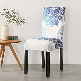 cheap Slipcovers-Chair Cover Damask / Contemporary Printed Polyester Slipcovers