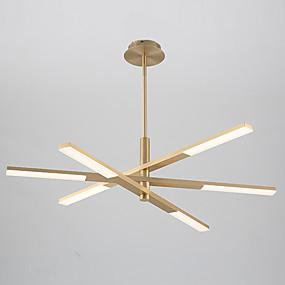 billige Lysekroner-6-Light 35 cm Sputnik Design Lysekroner Aluminum galvanisert / Malte Finishes Kunstnerisk / Nordisk stil Generisk