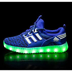 ieftine Pantofi de Copii-Băieți / Fete Confortabili Plasă Adidași de Atletism Copii mari (7 ani +) Fucsia / Roz / Verde Primăvară