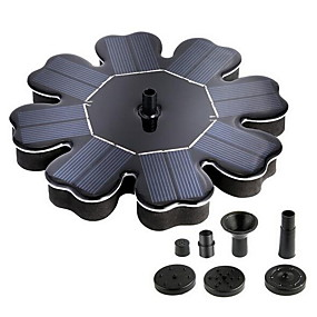 cheap Home Automation & Entertainment-Anself Solar Powered Fountain Solar Panel Water Floating Fountain