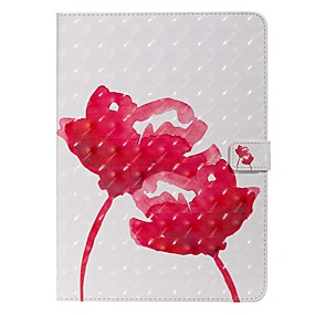 cheap iPad case-Case For Apple iPad New Air 10.5 / iPad Mini 3/2/1/4/5 Wallet / Card Holder / with Stand Full Body Cases Flower PU Leather For iPad 10.2 2019/Pro 11 2020/Pro 9.7/2017/2018/iPad 2/3/4